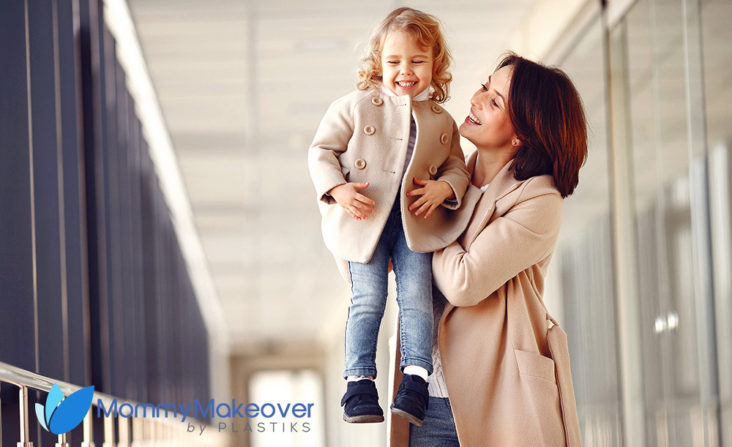 The Mommy Makeover procedures help you achieve a flatter tummy, lifted and firm breasts, slender contours, and a more youthful, pre-pregnancy appearance.